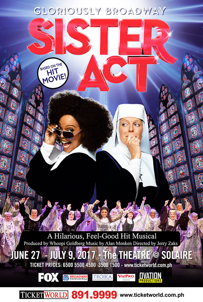 Gloriously Broadway SISTER ACT