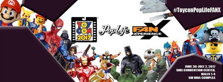 ToyCon Pop Life FanX 2017