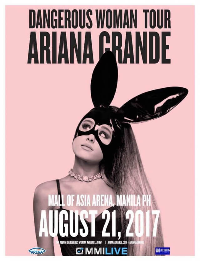 ARIANA GRANDE : DANGEROUS WOMAN TOUR