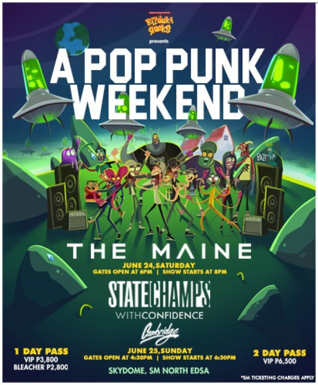 Bazooka Rocks Presents A Pop Punk Weekend
