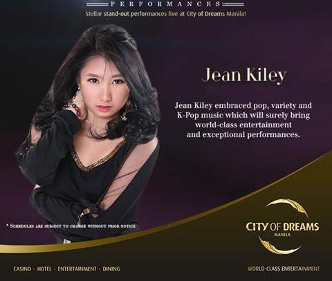 JEAN KILEY AT CENTERPLAY IN CITY OF DREAMS MANILA