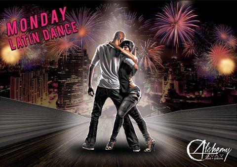 MONDAY LATIN DANCE AT ALCHEMY BISTRO BAR