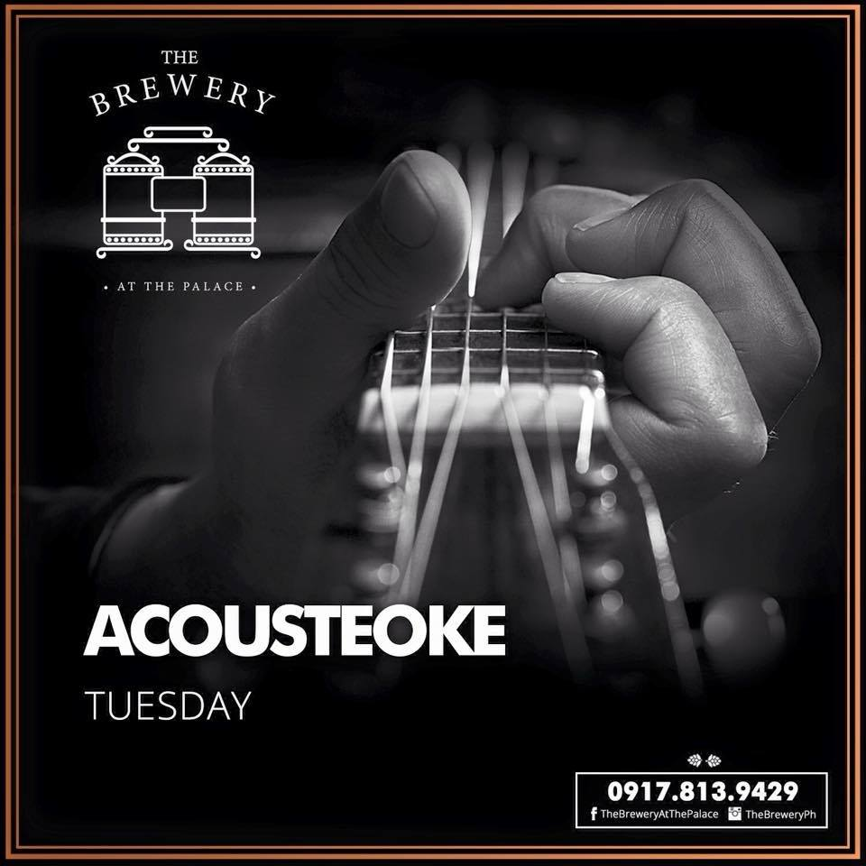 ACOUSTEOKE AT THE BREWERY AT THE PALACE