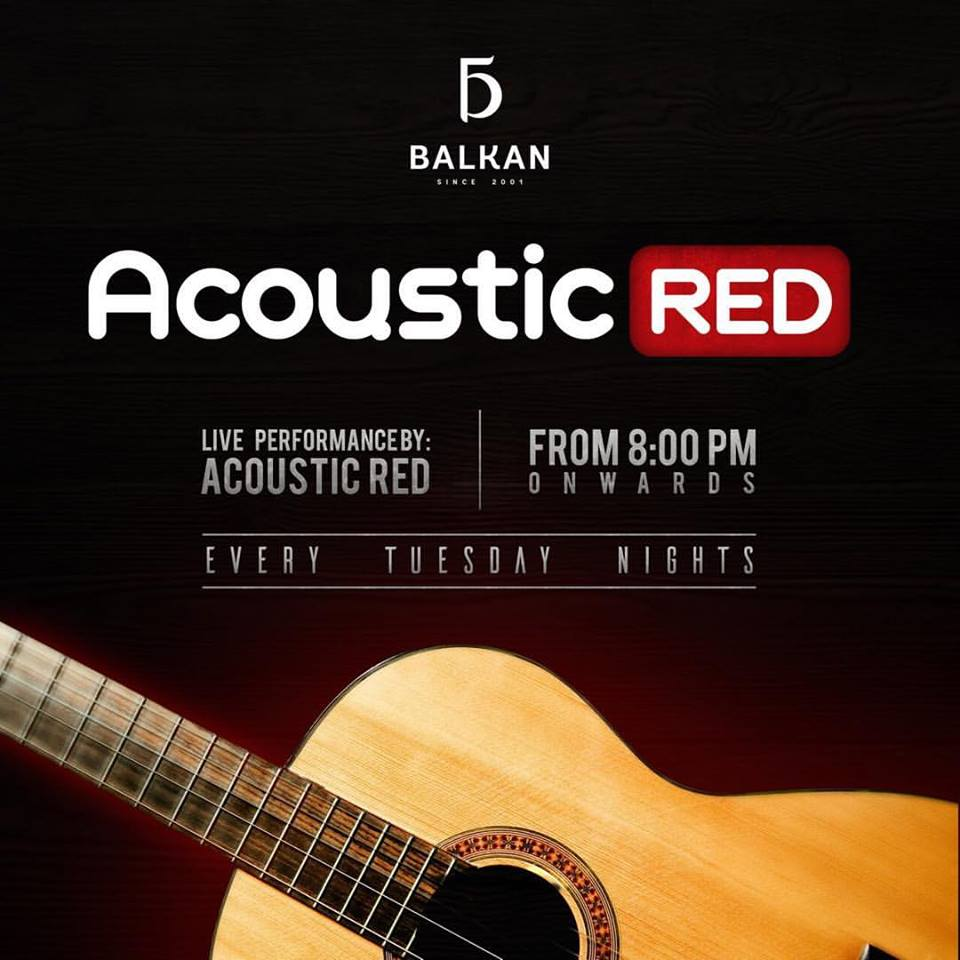 ACOUSTIC RED AT BALKAN MNL