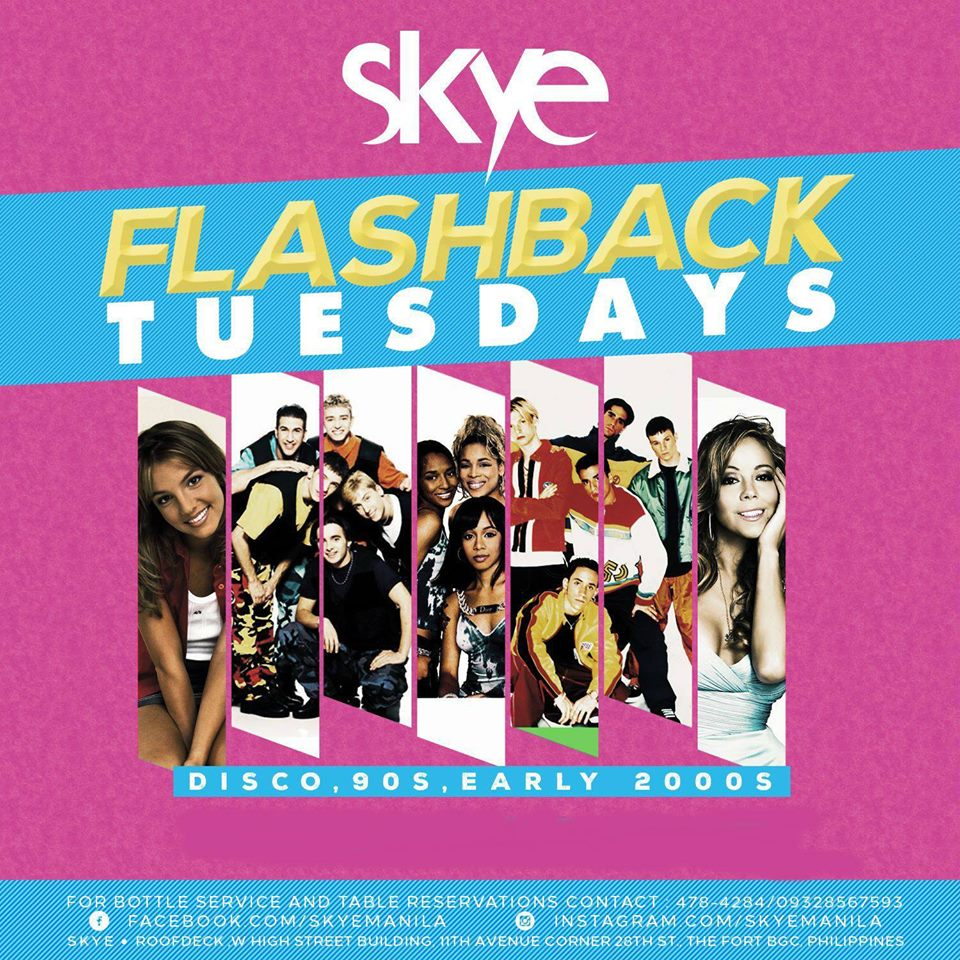 FLASHBACK TUESDAYS AT SKYE