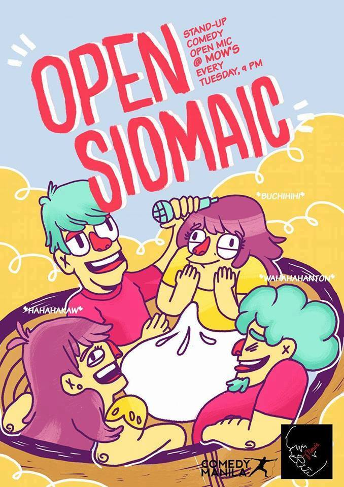 OPEN SIOMAIC AT MOW'S