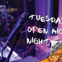 TUESDAY OPEN MIC NIGHT AT ALCHEMY BISTRO BAR