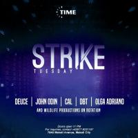 STRIKE TUESDAY AT TIME IN MANILA