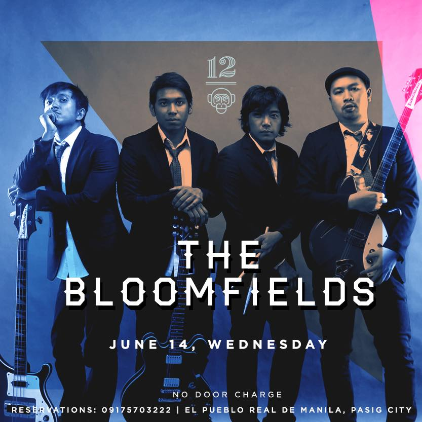 THE BLOOMFIELDS AT AT 12 MONKEYS MUSIC HALL & PUB