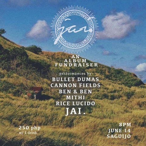 JAI.: AN ALBUM FUNDRAISER AT SAGUIJO CAFE + BAR EVENTS