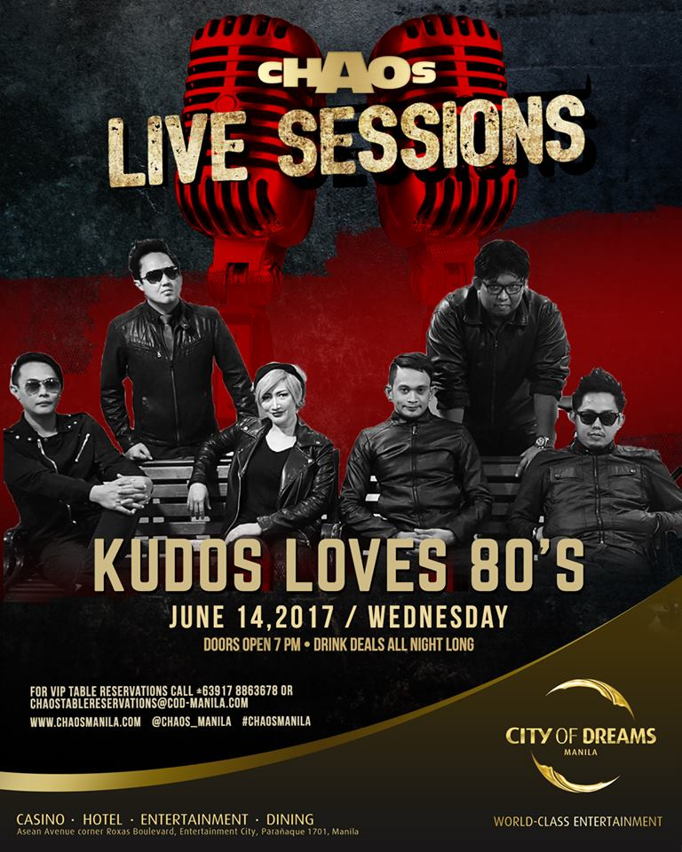 KUDOS LOVES 80'S AT CHAOS MANILA