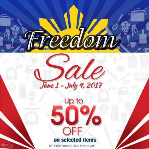 Gourdo's Freedom Sale