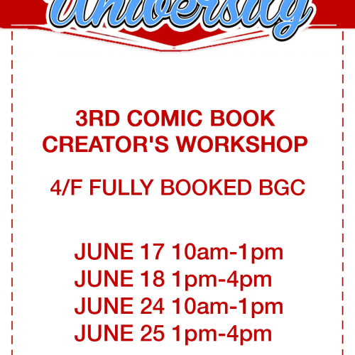 3rd Comic Book Creator's Workshop by Komiket
