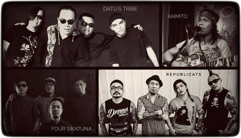 DATU'S TRIBE, THE REPUBLICATS, FOUR SIKATUNA, KAIMITO AT 70'S BISTRO