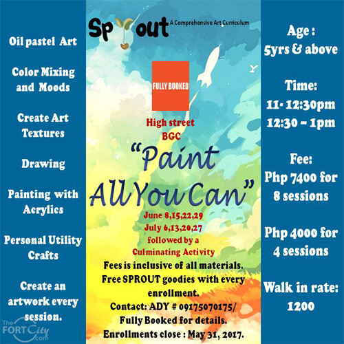 """""""Paint All You Can"""" Workshop by Sprout"""