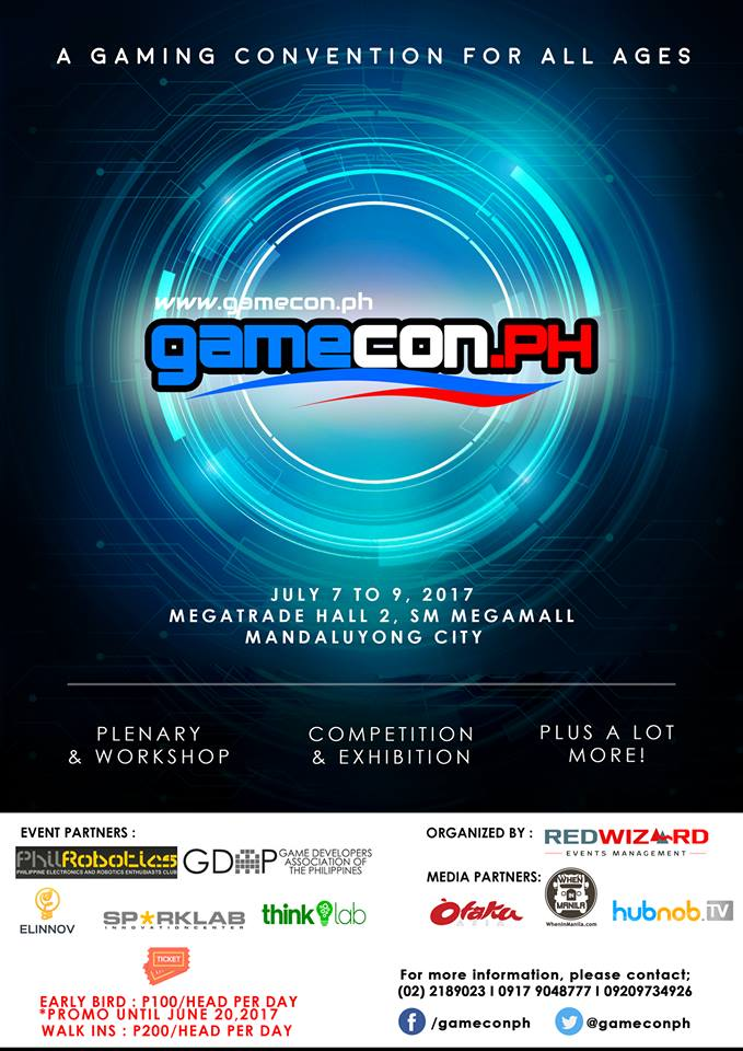 GameCon PH: Three days of nothing but games