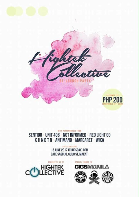 HIGHTEK COLLECTIVE RELAUNCH PARTY AT SAGUIJO CAFE + BAR EVENTS