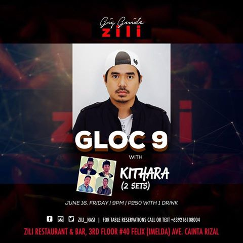 GLOC 9 AT ZILI RESTAURANT AND BAR