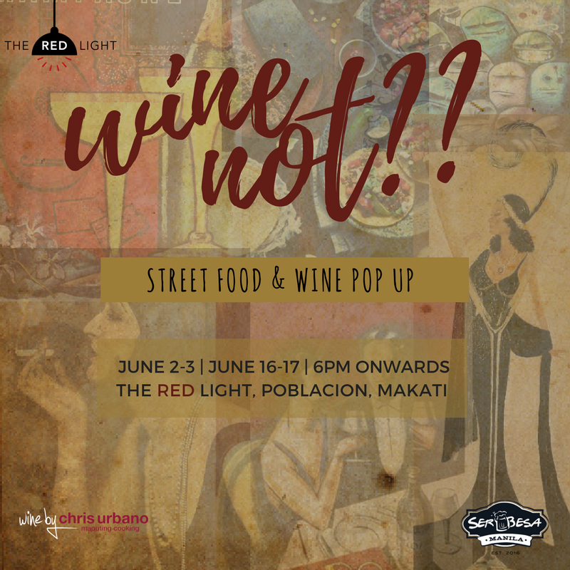 Wine and street food come together once more at 'Wine Not'