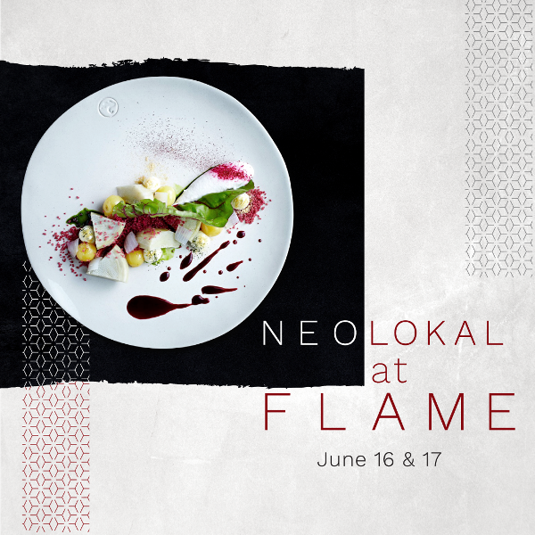 Chef Maksut A?kar of Neolokal at FLAME Restaurant