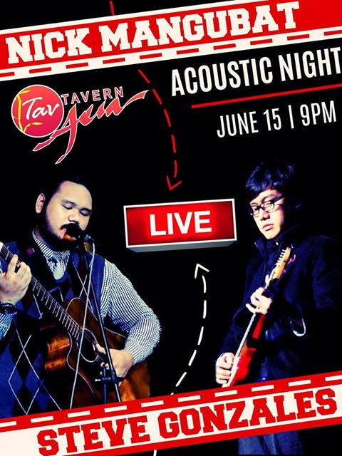 NICK MANGUBAT & STEVE GONZALES AT TAVERN ASIA