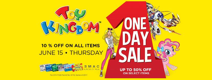 TOY KINGDOM ONE DAY SALE