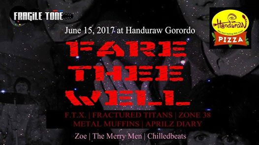 FARE THEE WELL AT HANDURAW PIZZA GORORDO
