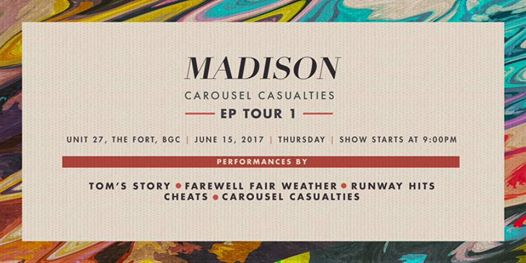 MADISON EP TOUR AT UNIT 27 BAR+CAFE