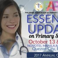 PAPSHPI 2017 ANNUAL CONVENTION: Essential Updates on Primary Skin Health