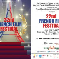 22nd French Film Festival At Ayala Malls Cinemas' Greenbelt 3 And Bonifacio High Street On June 9 - 17