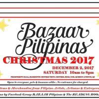 Bazaar Pilipinas Christmas 2017