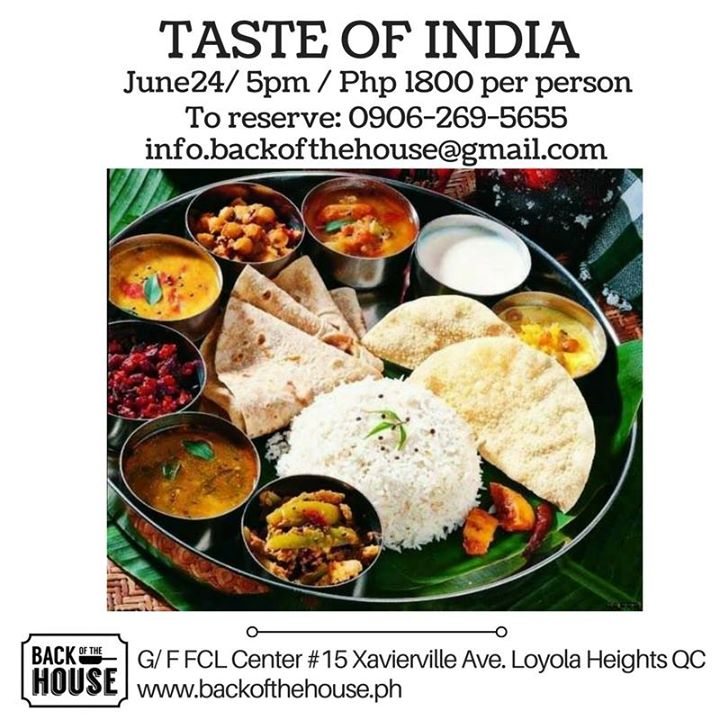 Hands-on cooking workshop of vegetarian Indian dishes