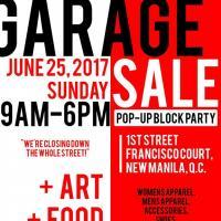 Garage Sale Pop-Up Block Party