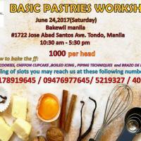 Basic Pastries Workshop