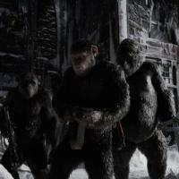 "Amazing Before & After Movie Stills Using Mo-cap In ""war For The Planet Of The Apes"""