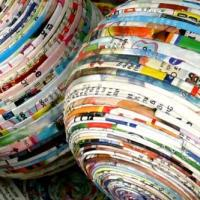 PAPER RECYCLING WITH NOVELTY ITEMS