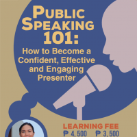 PUBLIC SPEAKING 101: How to Become a Confident, Effective and Engaging Presenter