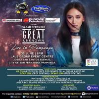 SARAH GERONIMO THE GREAT UNKNOWN - Live in Pampanga