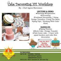 Cake Decorating 101 Workshop
