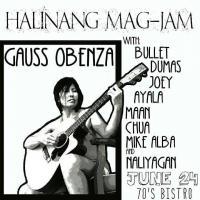 GAUSS OBENSA ALBUM LAUNCH AT 70'S BISTRO