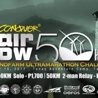 2nd Conquer Airflow 50 : Windfarm Ultramarathon Challenge (Road)