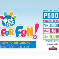 SM City Santa Rosa's PET FEST Run FUR Fun
