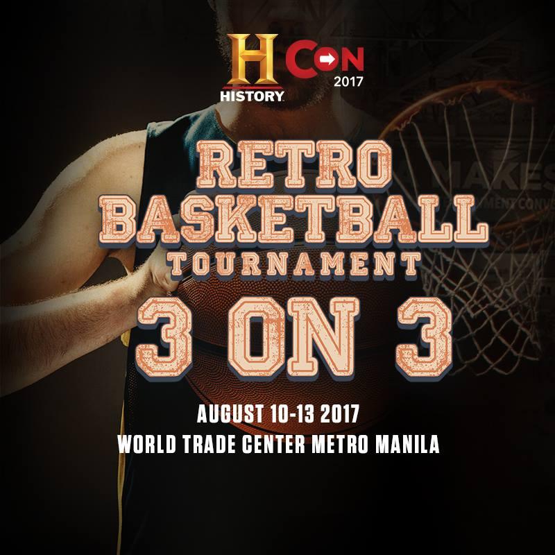 3 ON 3 RETRO BASKETBALL TOURNAMENT
