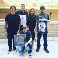 Gold And Platinum Record Awards Presented To Parokya Ni Edgar On ASAP Pinoy