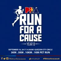 PBA Run for a Cause Year 8 2017
