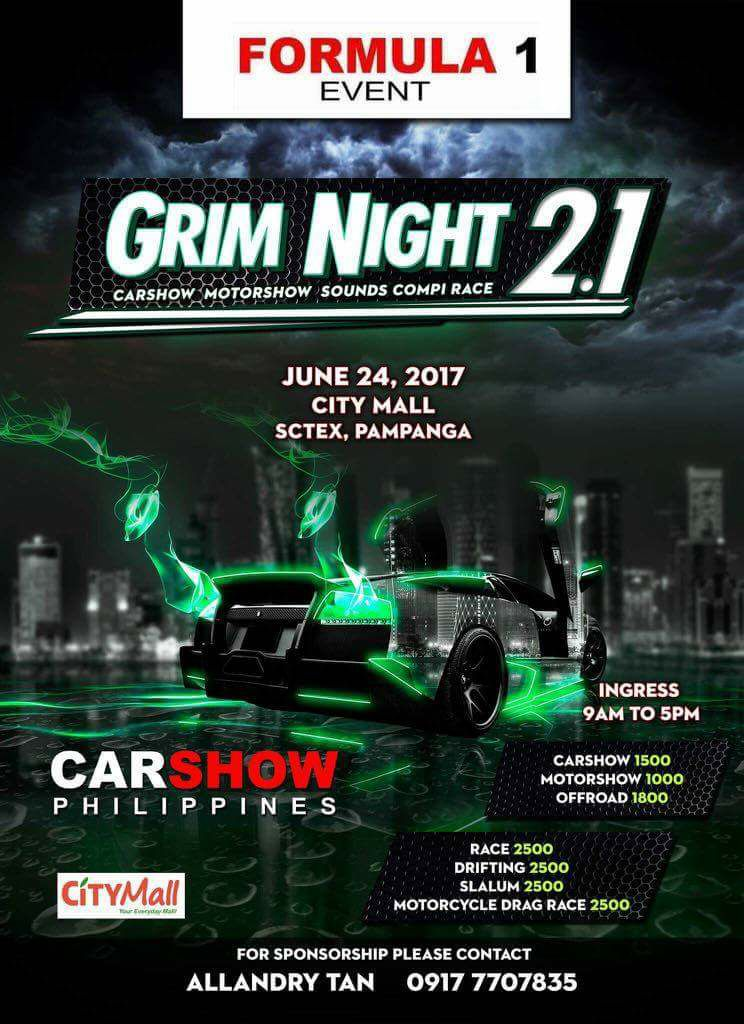 GRIM NIGHT 2.1 CAR MOTOR SHOW