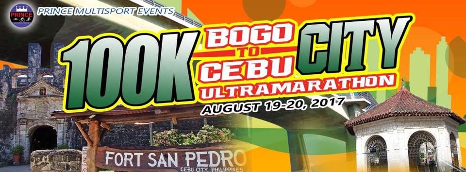 Bogo City To Cebu City 100K Ultramarathon