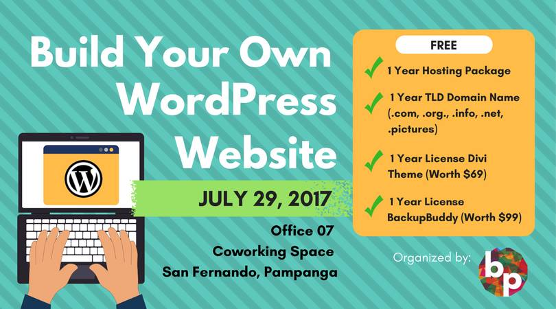Build Your Own Wordpress Website What 39 S Happening