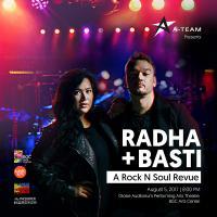 RADHA + BASTI (A Rock N Soul Revue)