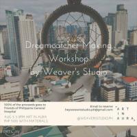 Dreamcatcher Making Workshop at ART IN AURA
